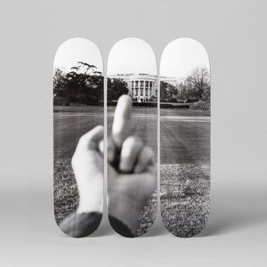Ai Weiwei White House Skateboard Decks, Set of 3